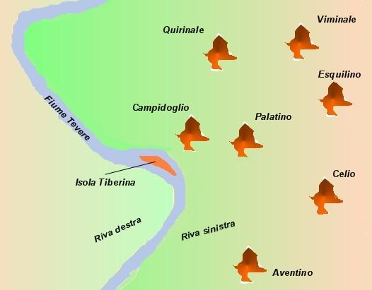 Colli Di Roma Cartina.Spazio1h2011 Mappe Concettuali Per Dsa 4